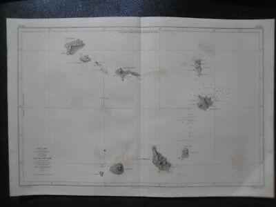 Map islands cap vert (Cabo verde). Fogo, santiago, Maio, boavista, sal, vicente