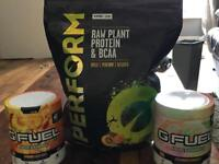 Vivo- sport (PERFORM raw plant protein & BCAA )-GFUEL energy formula