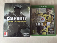 XBOX ONE GAMES FIFA 17 - CALL OF DUTY - ALL BRAND NEW AND SEALED