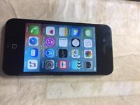 IPhone 4s black o2 16gb