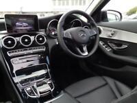 Mercedes-Benz C Class C220 D SPORT PREMIUM (black) 2017-03-31