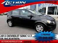 2013 CHEVROLET SONIC 5 LT AIR MAG BLUETOOTH MYLINK