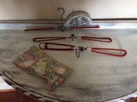 Vintage coat hanger set