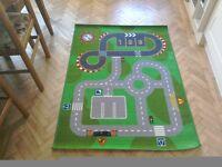 Ikea car play rug, mat