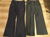Two pair of Next women's trousers