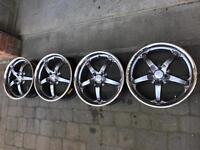 Alloy wheels fit mini