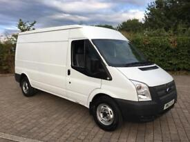 2013 Ford Transit 2.2 TDCi 350 LWB Low Roof Van, 98K MILES, FULL SERVICE HISTORY, 2 KEYS, +VAT
