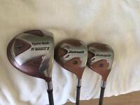 Taylormade Burner driver, 3 wood & 5 wood. £40 For All Three