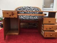 Pine study table