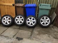 Audi A3 2014 alloys wIth tyres