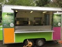 Catering Trailer for sale - ready to trade
