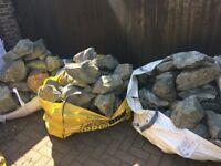 Green Granite Garden Stone/Rocks/Rockery