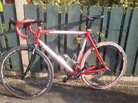 Italian FONDRIEST MEGA Race Bike Carbon Forks. racer. road