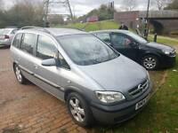 Vauxhall zafira 1.6 16v