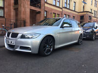 BMW 330d E91 (not 335 or 325) m sport estate/touring 280BHP FSH fast and economical