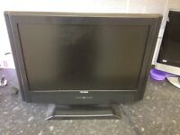 """19""""hd TV with built in free view £25"""