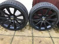 Alloy wheels with brand new tyres . 20' for BMW 730 M