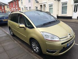 Citroen C4 Grand Picasso, great family car, 7 seater, automatic 6 speed, service history,full option