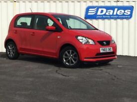 Seat Mii 1.0 I TECH 5dr (red) 2015