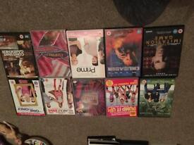 Bundles of dvds and boxsets