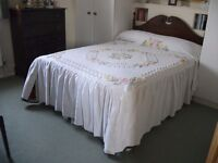 Double Candlewick Double Bedspread