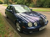 Jaguar S-Type V6 Sport 2496cc Petrol 5 speed MANUAL 4 door saloon 03 Plate 11/03/2003 Blue