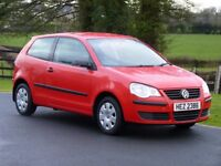 2006 VOLKSWAGEN POLO 1.2 3 DOOR