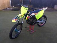Ktm 450 sxf (spring fork conversion)