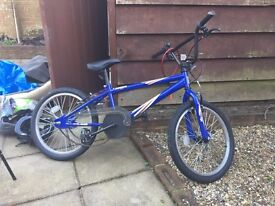 BMX Bike With Helmet