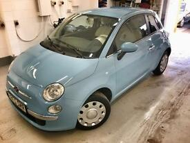 🌟🚘 🌟Stunning 2012 Fiat 500. Presented in Baby Blue and Cream. 12 Months MOT. 🌟🚘🌟