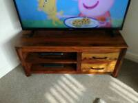 TV unit, mirror and coffee table