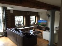 Double room to rent in Shoreditch warehouse conversion
