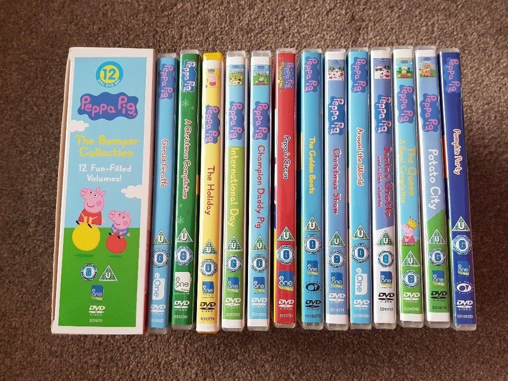 25 Peppa Pig DVDs