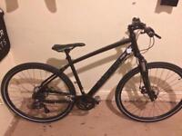 "Carrera Crossfire 2 Mens Hybrid Bike - Black - 19""Frames"