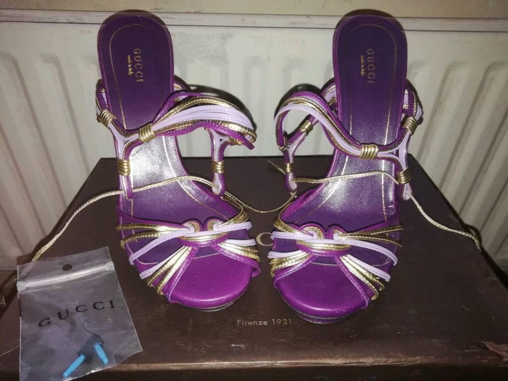 fa4259c1357e authentic ladies Gucci shoes size 5 unworn