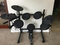 Black Mamba DDK1 Electronic Electric Drum Kit Full Working Order Excellent Condition