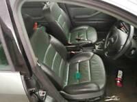 Audi allroad Green 2 tone leather interior