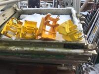 Boss scaffold kick board clips