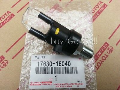 Toyota Supra 1993-98 Air Control Valve Assy NEW Genuine OEM Parts 17630-16040