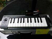 Korg micro key air 25 key wireless Bluetooth keyboard/usb