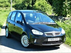 2008 FORD C MAX TITNANIUM 1.8 + 12 MONTHS MOT + SERVICE HISTORY + EXCELLENT FAMILY CAR