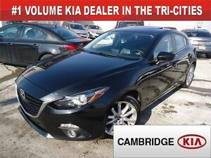 2014 Mazda MAZDA3 SPORT GT-SKY / LEATHER / *AUTO* / SUNROOF