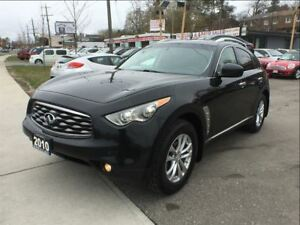 2010 Infiniti FX35 NAV 360 CAMERA ACCIDENT FREE