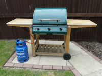 'Canterbury' 3 Burner Gas Fired Barbeque