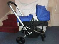 Mothercare pram and baby carrier