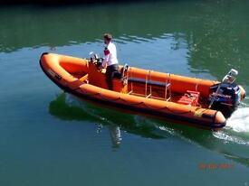 Humber 6.5m deep v hull 115 fourstroke