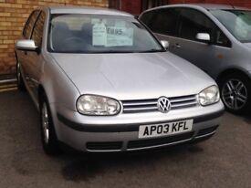 Volkswagen Golf 1.6 petrol