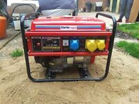 Clark Power 3kva petrol genarator. (Brand New)