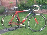 Claud Butler San Remo14 speed Road Bike,54cm frame,Shimano shifters/gears,700c DA