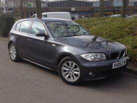 2006 BMW 1 SERIES AUTOMATIC LOW MILES **ONLY 66000**EXCELLENT CONDITION
